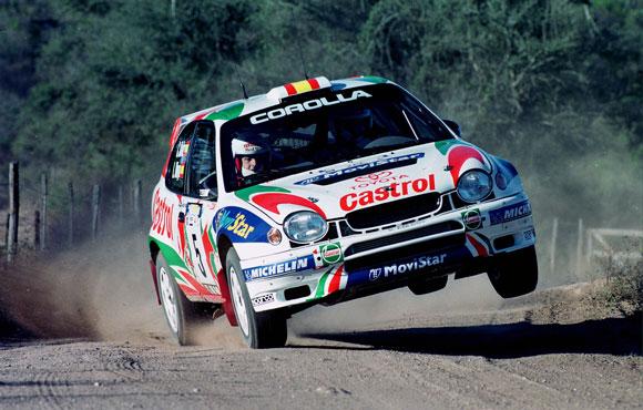 Znalezione obrazy dla zapytania Toyota Corolla WRC Rally 1998 C Sainz